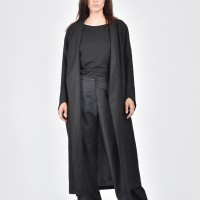 Sophisticated Extra long Linen Coat А07669