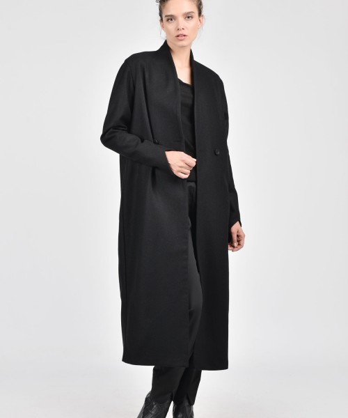 Extravagant Asymmetric Long Coat A90135