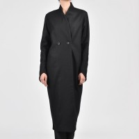 Extravagant Asymmetric Long Coat A07678