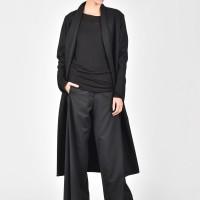 Extravagant Asymmetric Long Coat A07678