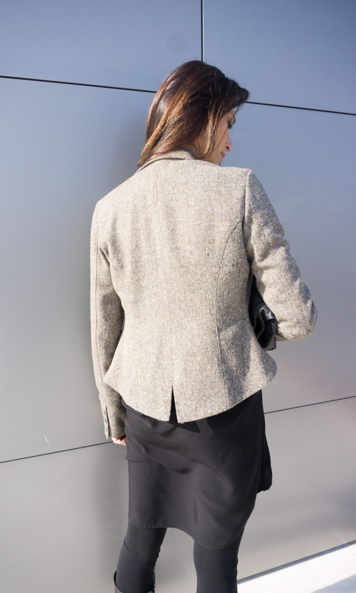 Limited edition stylish wool blazer A90394