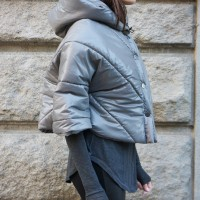 Coats - Short Extra Warm Hooded Coat