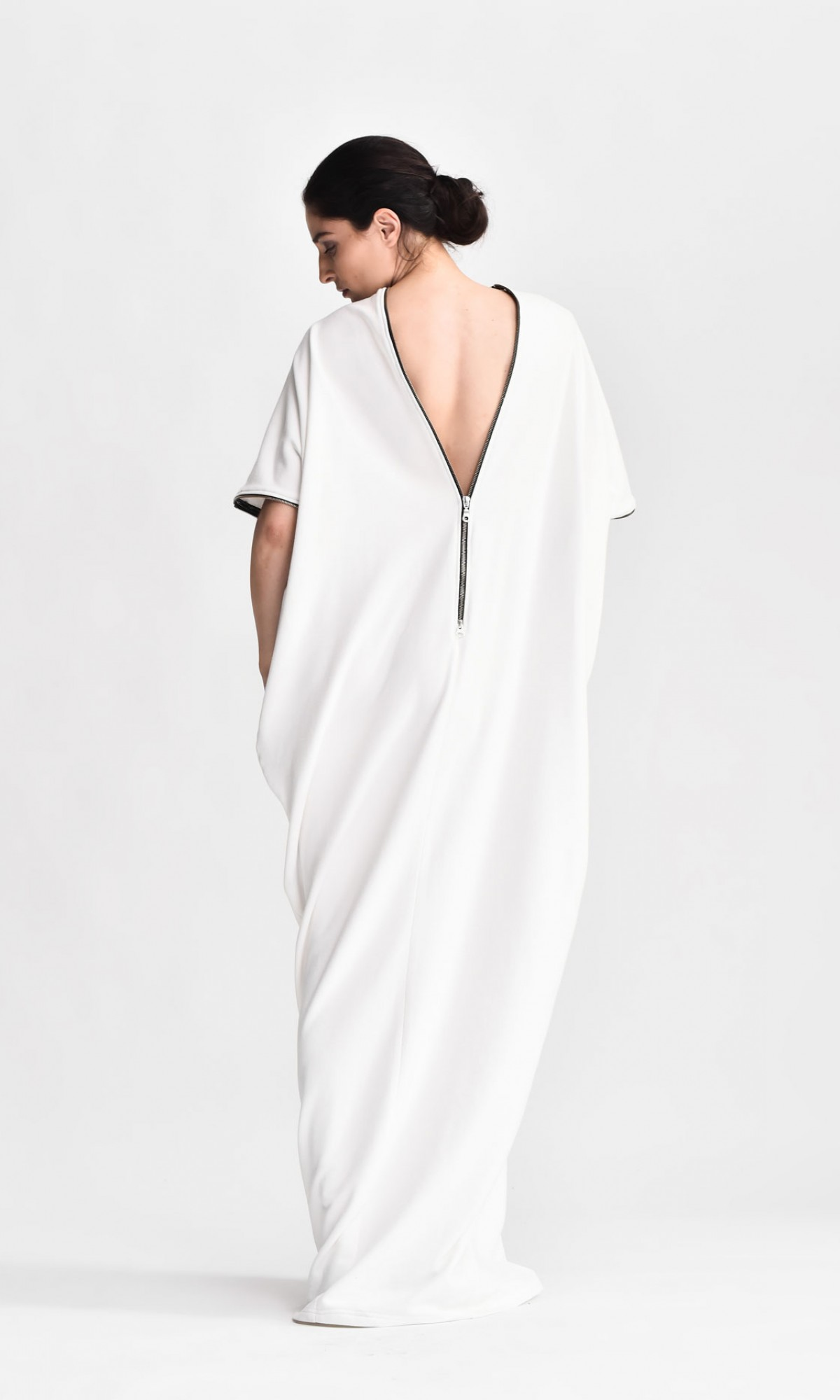 French Terry Cotton Dress A03163