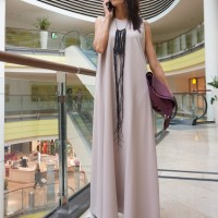 Dresses - Sleeveless Maxi Dress A03370