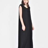 Straight Long Sleeveless dress  A90081