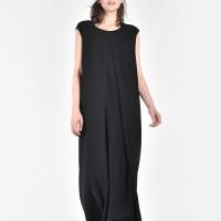 Straight Long Sleeveless dress  A90081