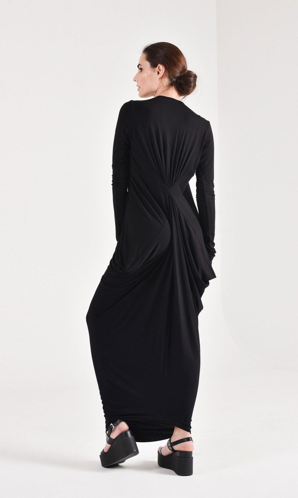 Asymmetric Loose Kaftan Dress