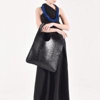 Small Extravagant Croco Genuine Leather Bag A90447