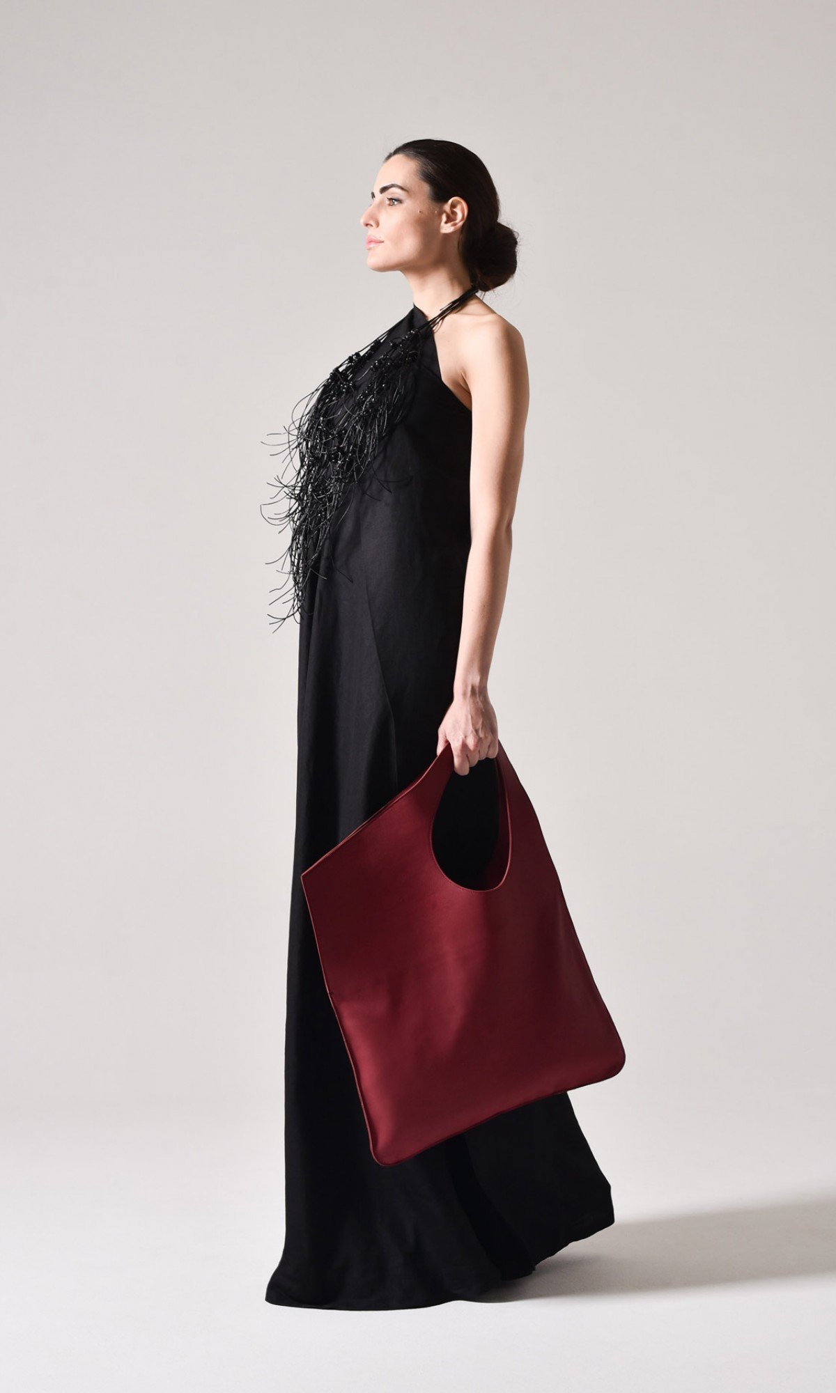 Small Extravagant Genuine Leather Bag A14478