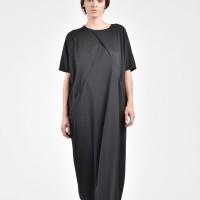 Front Cross Pockets Dress A03165