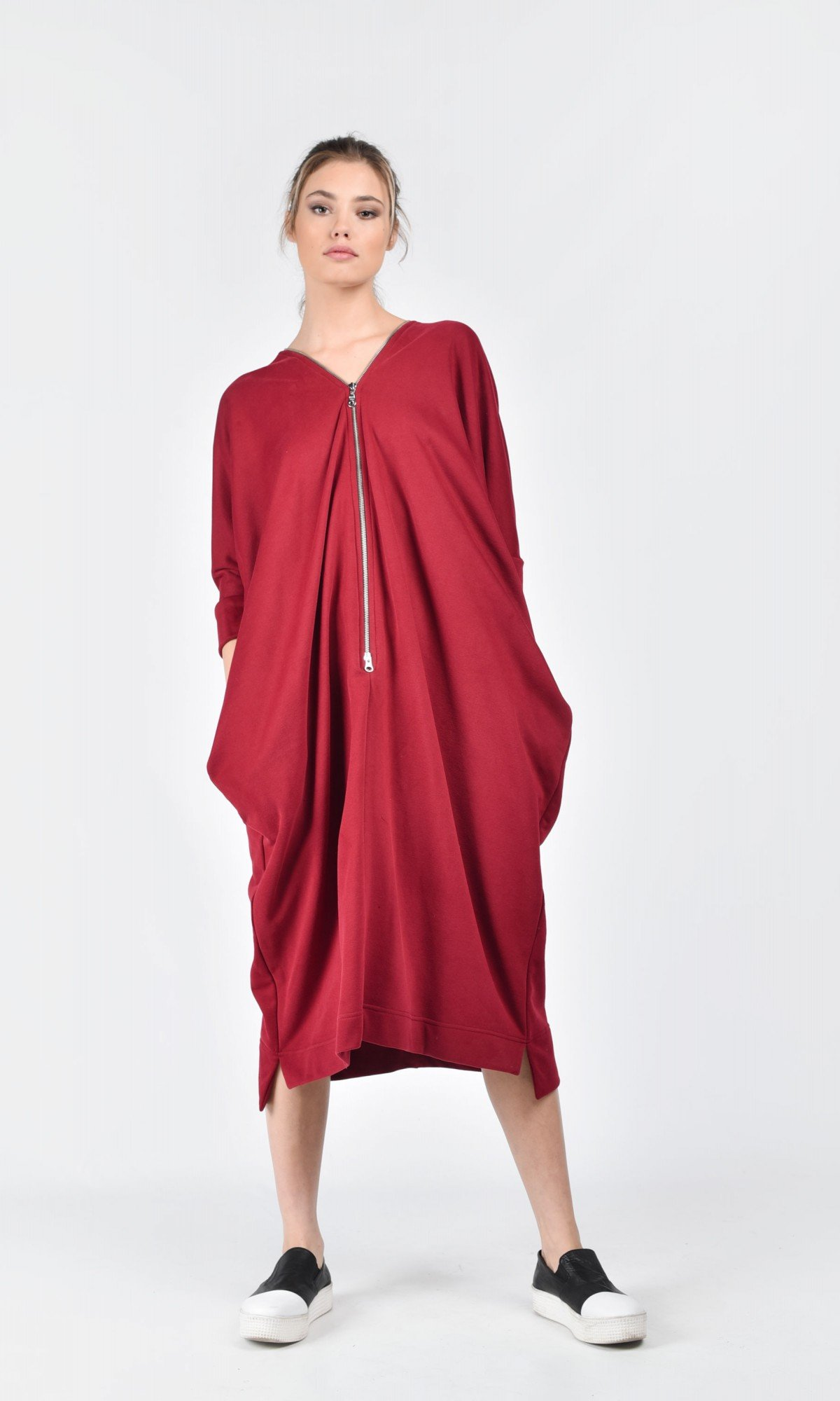 French Terry Cotton Kaftan A03212