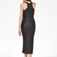 Racer Back Bodycon  Dress A03274