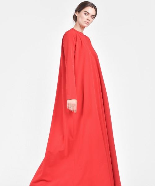 Black Long Sleeved Dress A03331