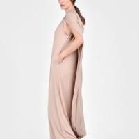 Sexy Black Extravagant Cape Dress  A03395