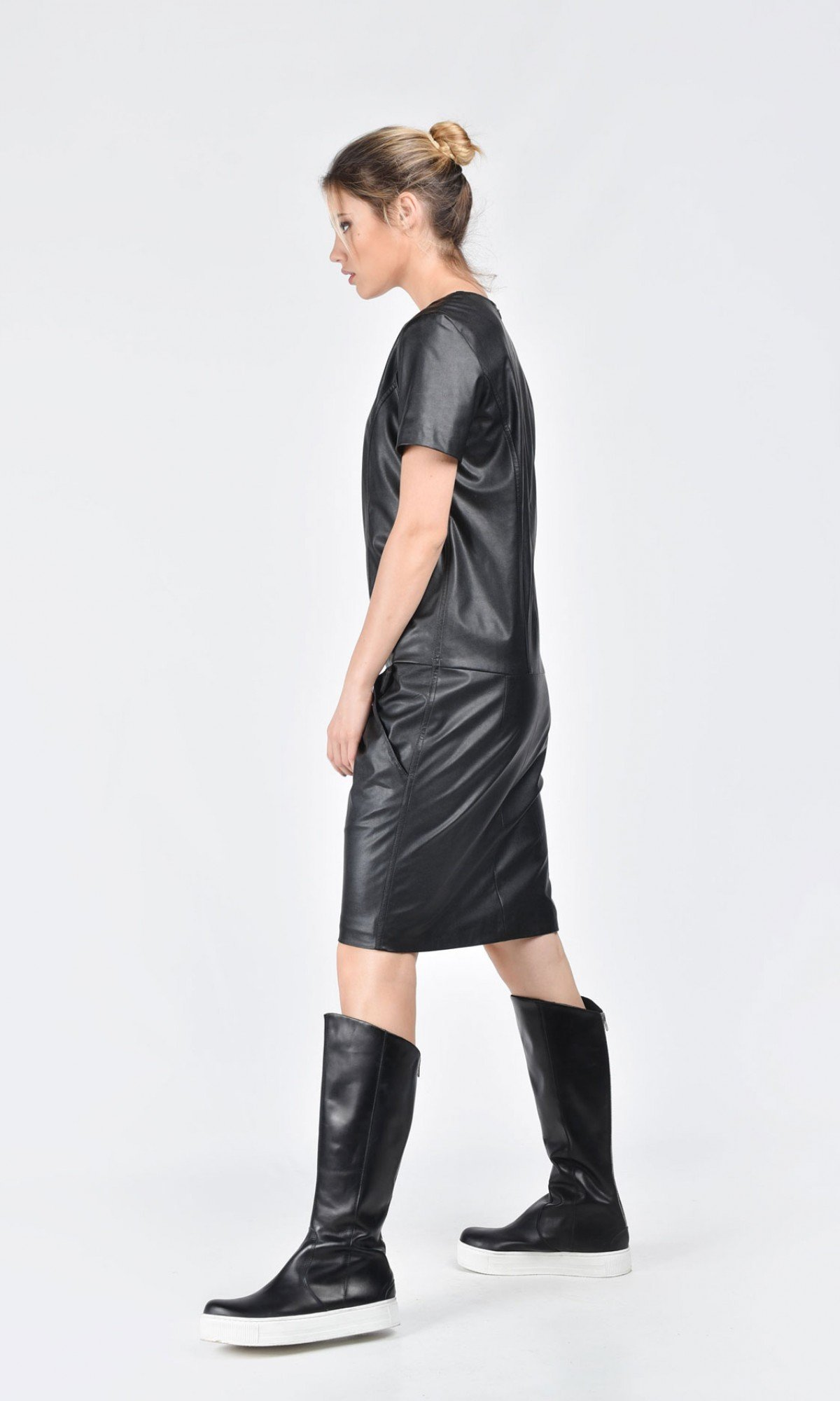 Mini Eco Leather Dress