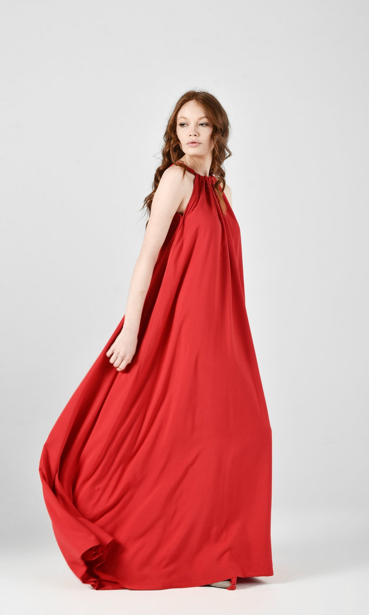 Maxi Dress with Adjustable Strap A03735