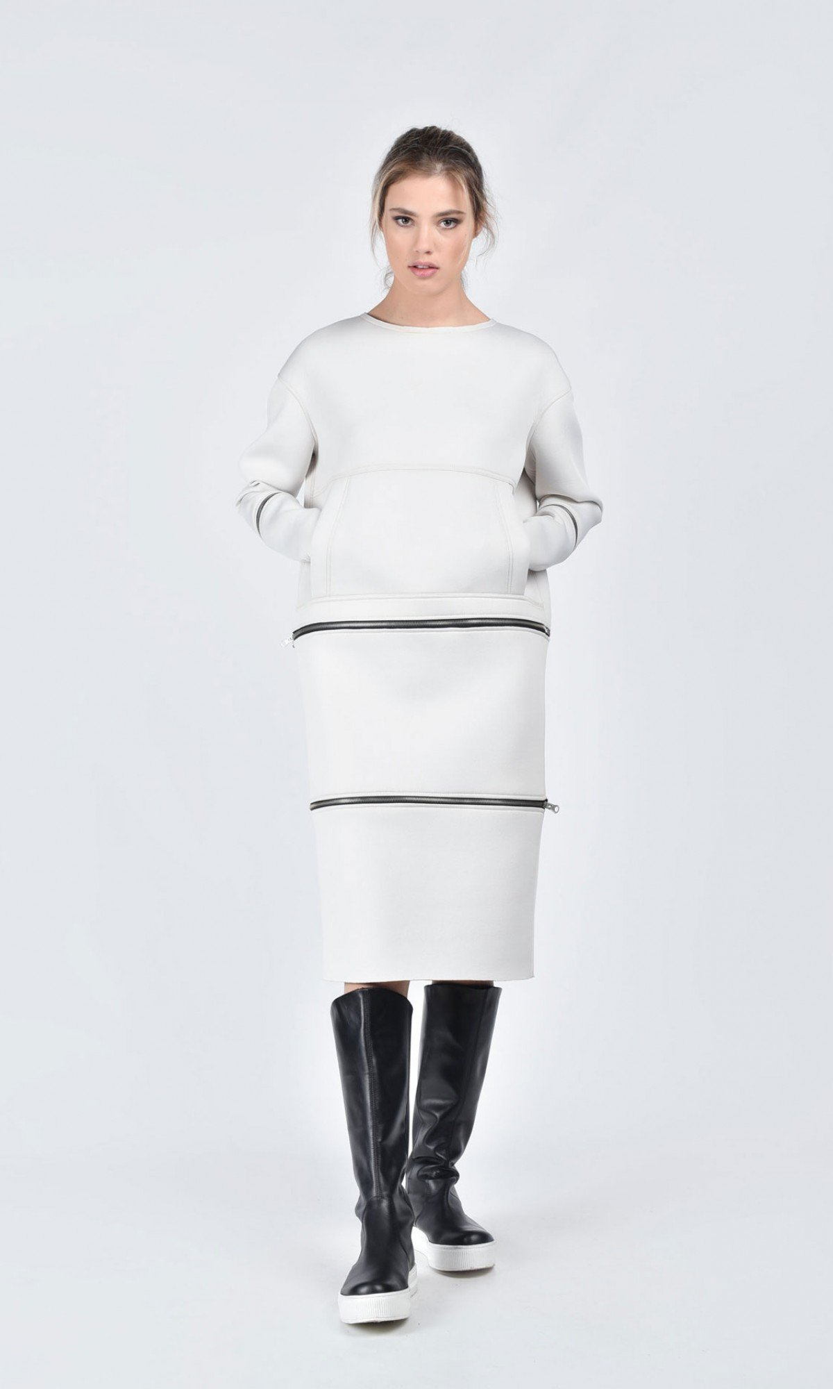 Detachable Multi Way Tunic Dress