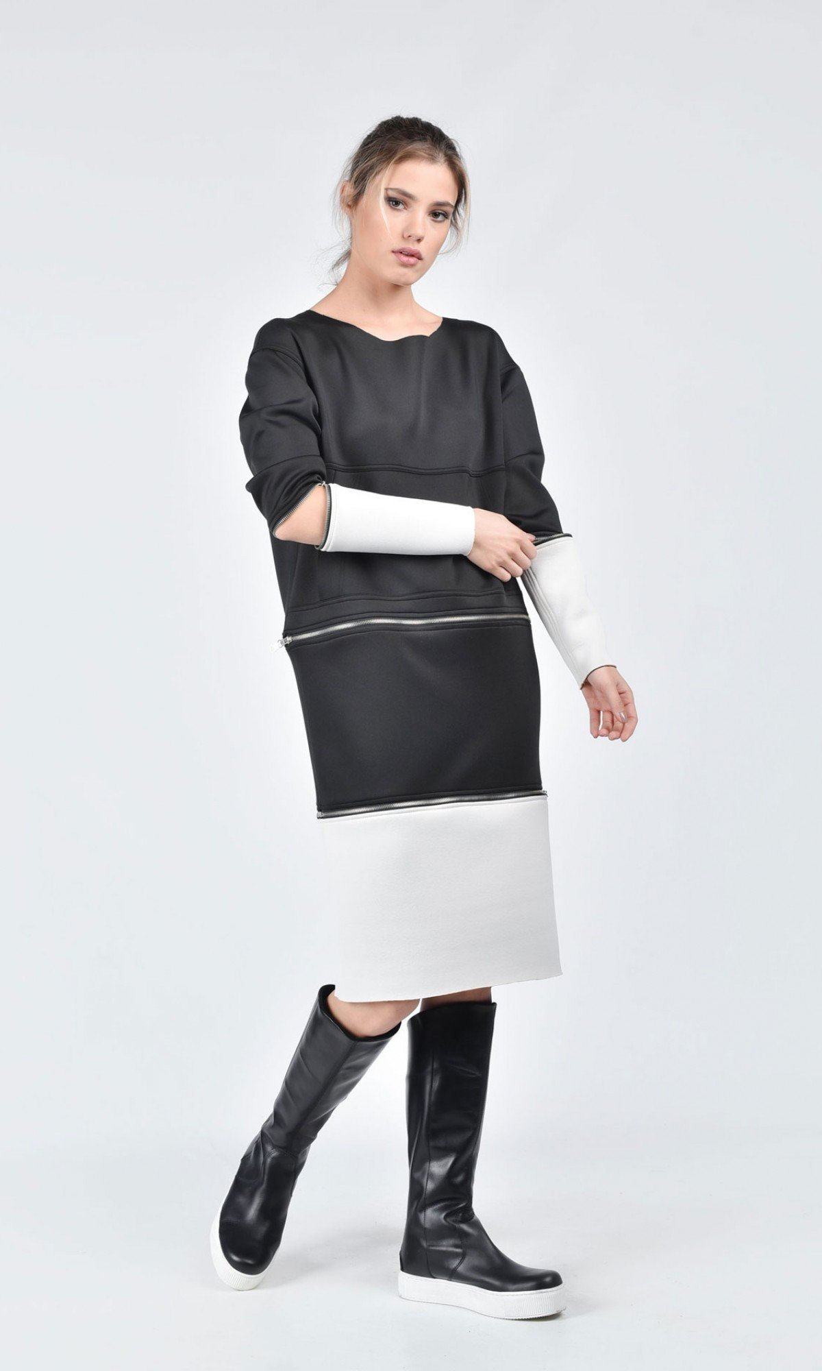 Detachable Multi Way Tunic Dress