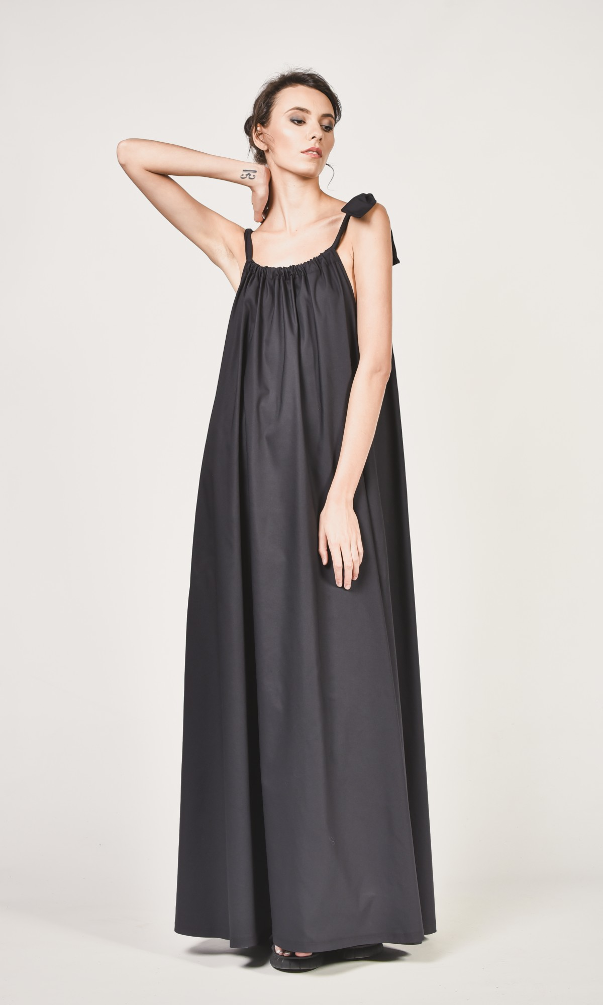 Maxi Dress With Adjustable Strap