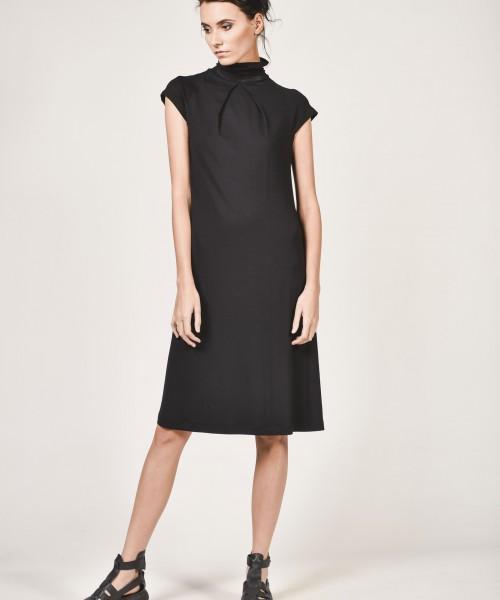Black Extravagant Dress A90037