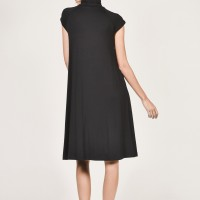 Black Extravagant Dress A90037