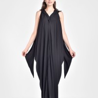 Asymmetric Sleeveless flawless dress  A90080