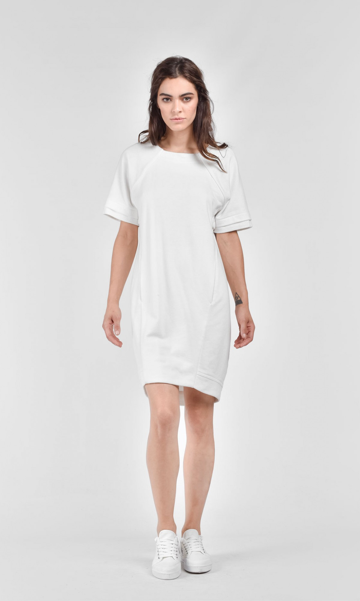 sexy casual short sleeve dress