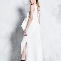Extravagant Asymmetric Sleeveless Dress A03768