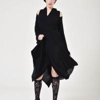 Asymmetric off shoulder flawless dress A90274