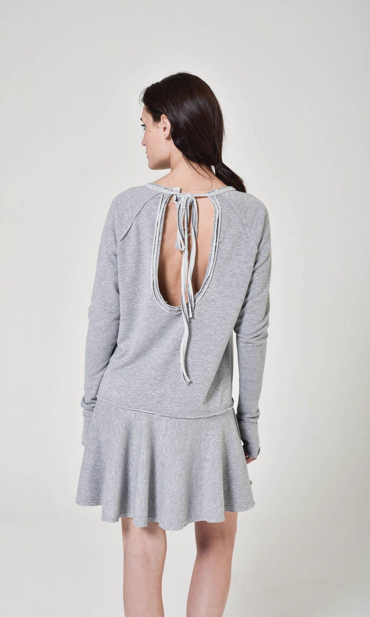 Short Sporty Frill Dress