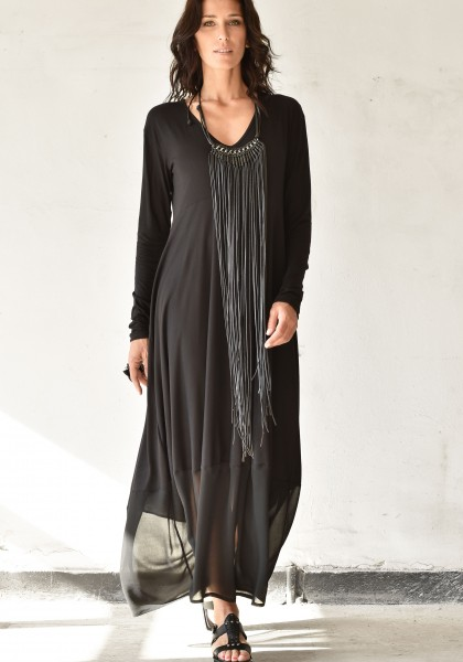 Extravagant Long Sleeve Tunic dress A90294