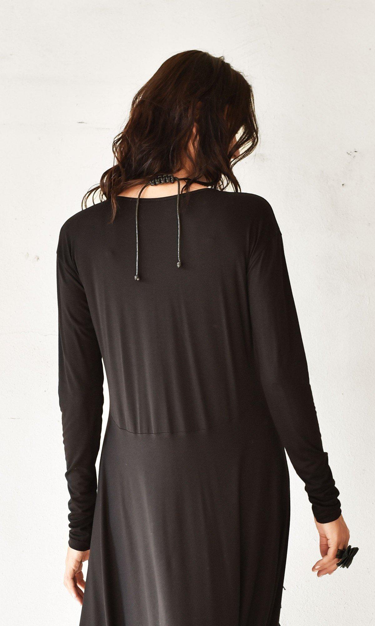 Extravagant Long Sleeve Tunic dress A90294