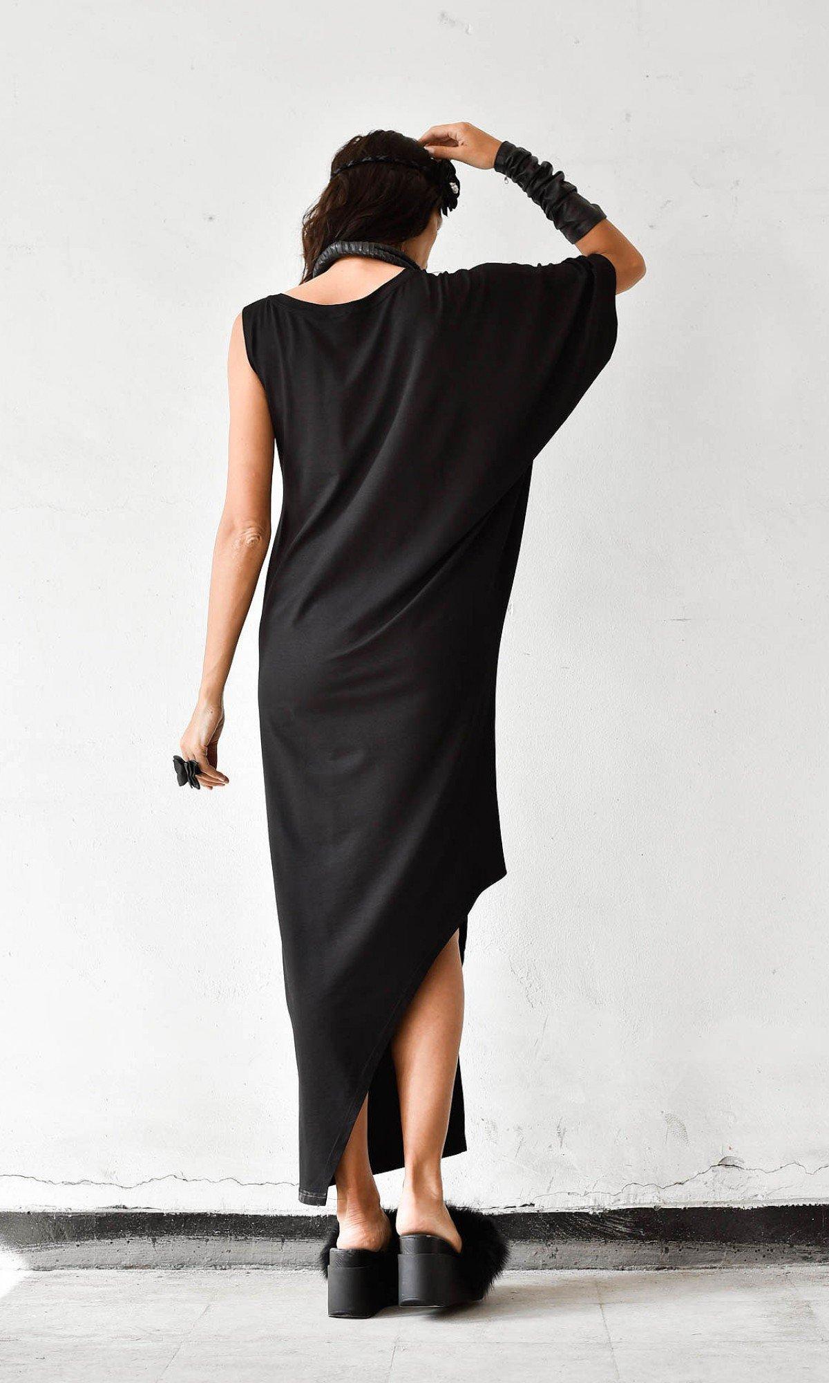 Very Elegant One Sleeve Maxi Dress A03013