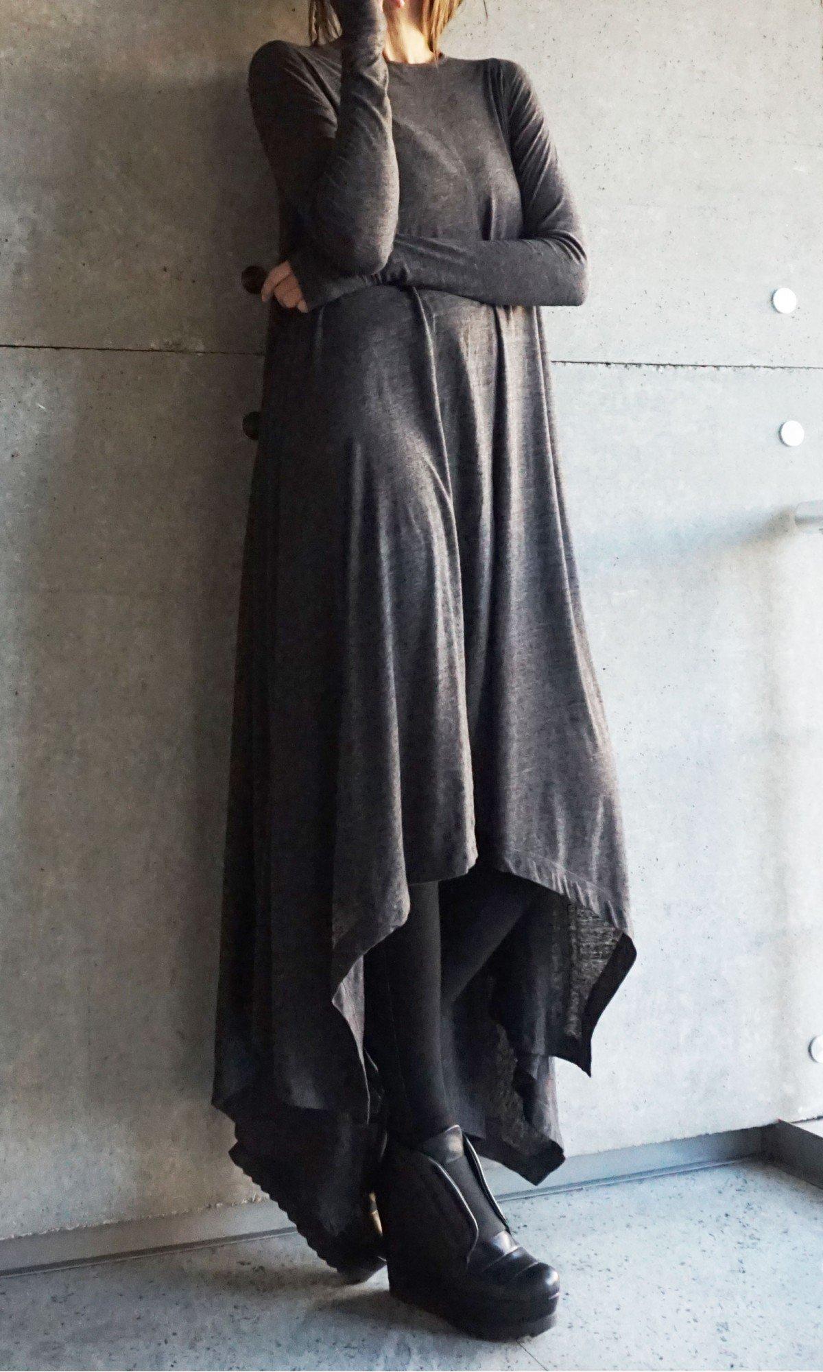 Stylish extra long tunic dress  A03902