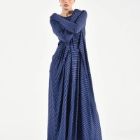 Asymmetric Long Sleeve Dress A90448