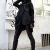 Extravagant Asymmetric Hooded Coat