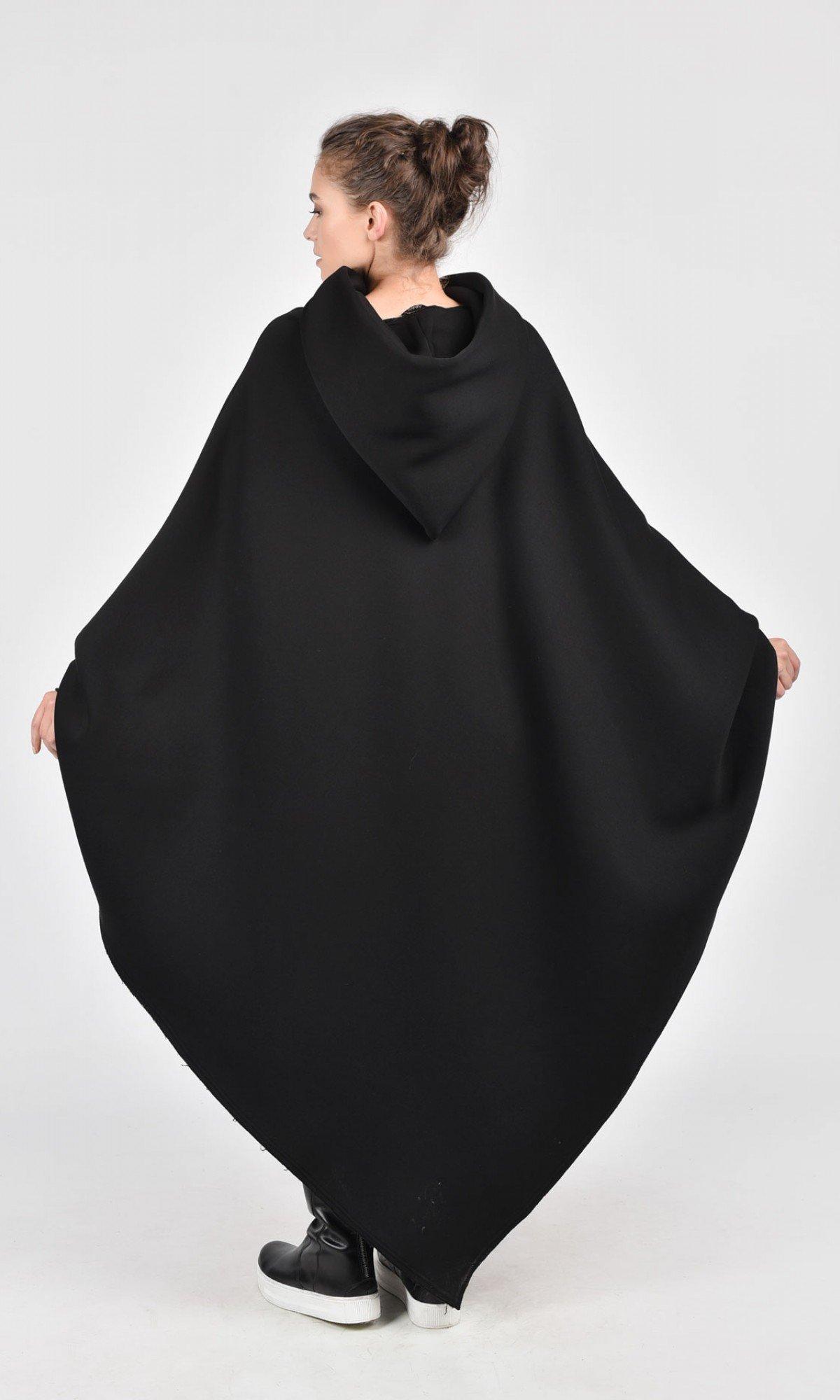 Asymmetric Romantic Hoodie A07104