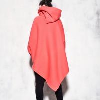Asymmetric Romantic Hoodie A07583