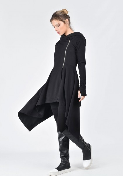 99ccf8b8be0 Extravagant asymmetric hoodies by Aakasha.