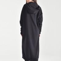 Extra Long Zipper Hoodie A90451