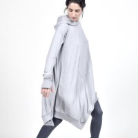Extravagant Extra Long Maxi Hoodie A90470
