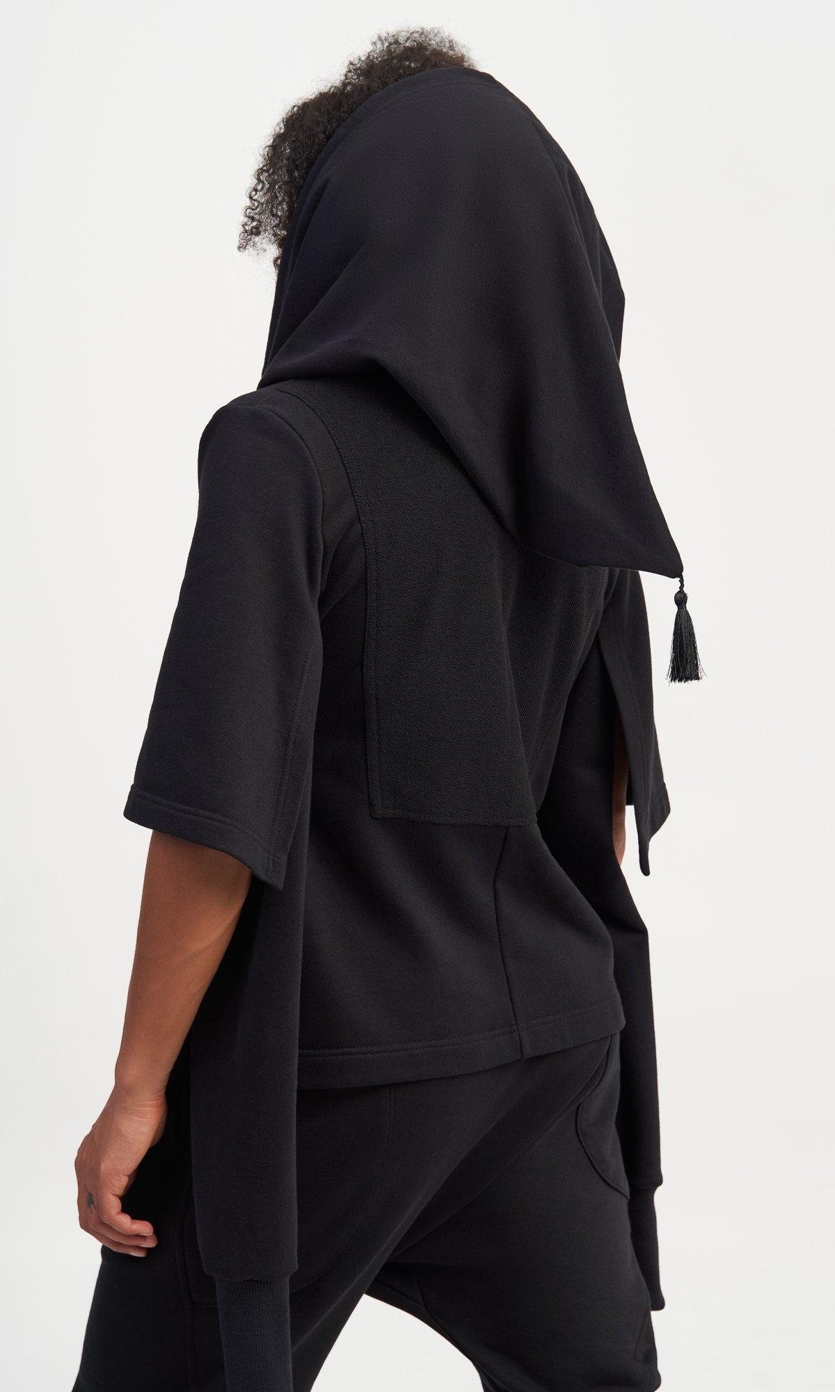 Multi Way Sleeves Hoodie