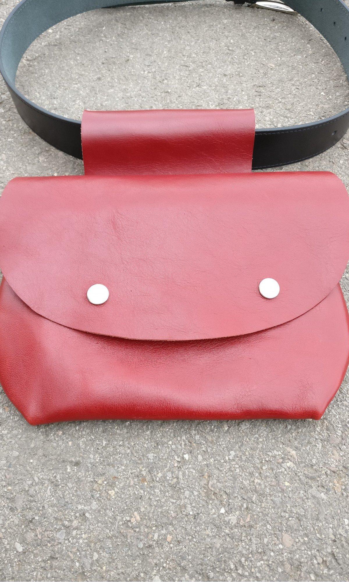 Extravagant Genuine leather Belt Bag A14827