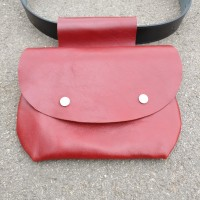 Extravagant Genuine leather Belt Bag A90391
