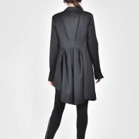 Extravagant Asymmetrical Buttoned Blazer A10283