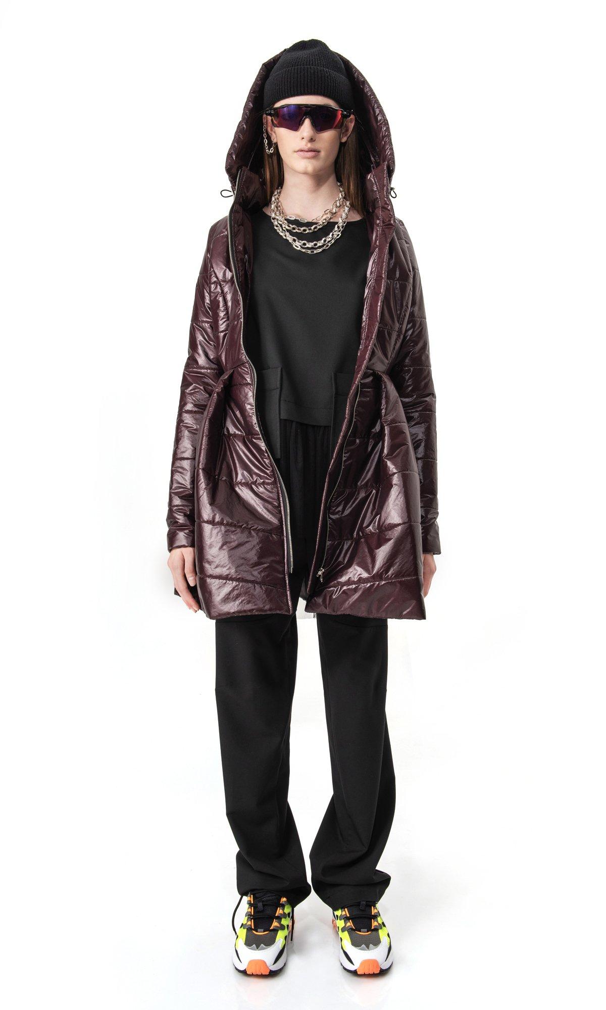LIMITED Beautiful peplum winter jacket A20210