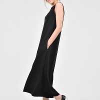Black Cotton Wide Leg Jumpsuit A19495