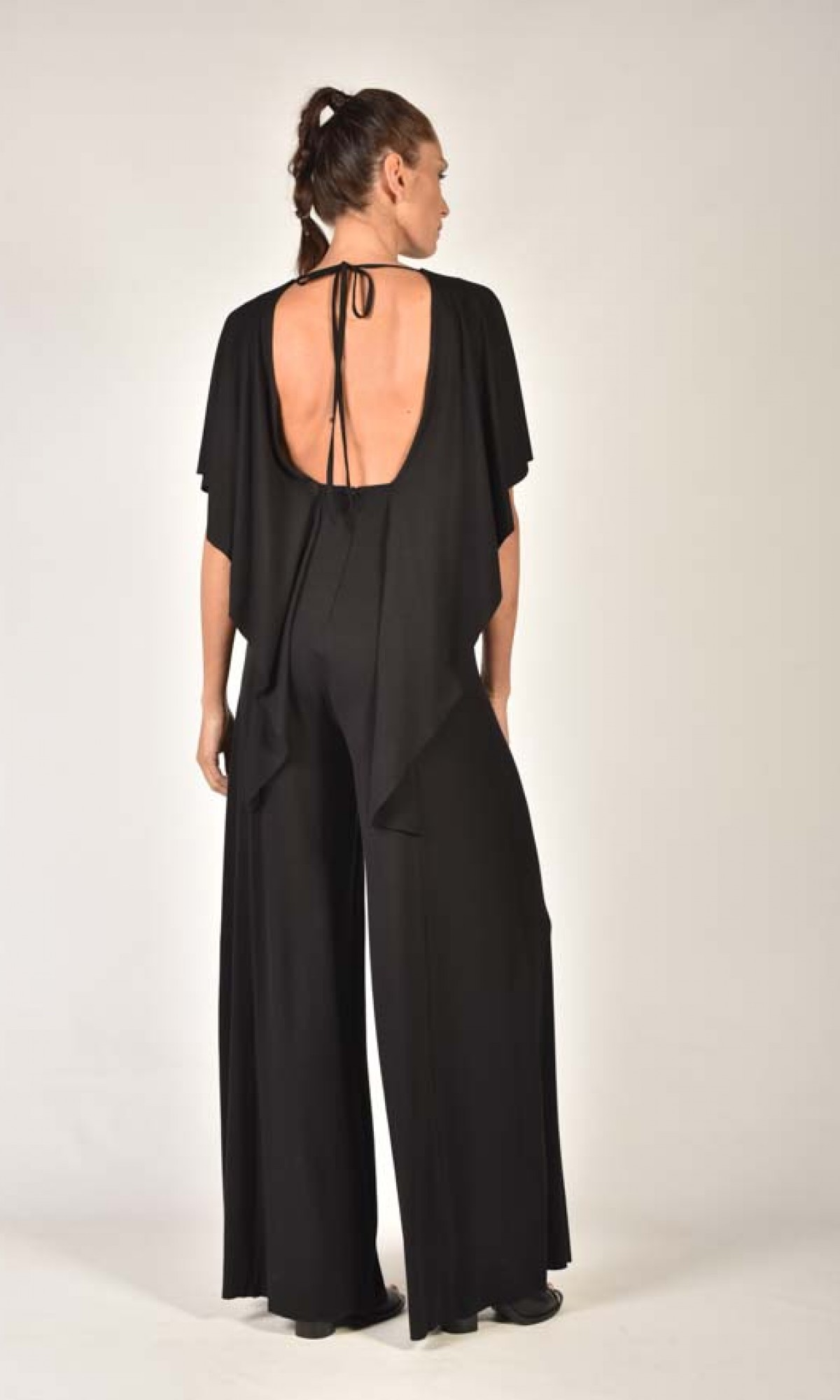 Jumpsuits - Open Back Sexy Jumpsuit A90026