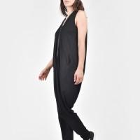 Long Front Zipper Jumpsuit A19668