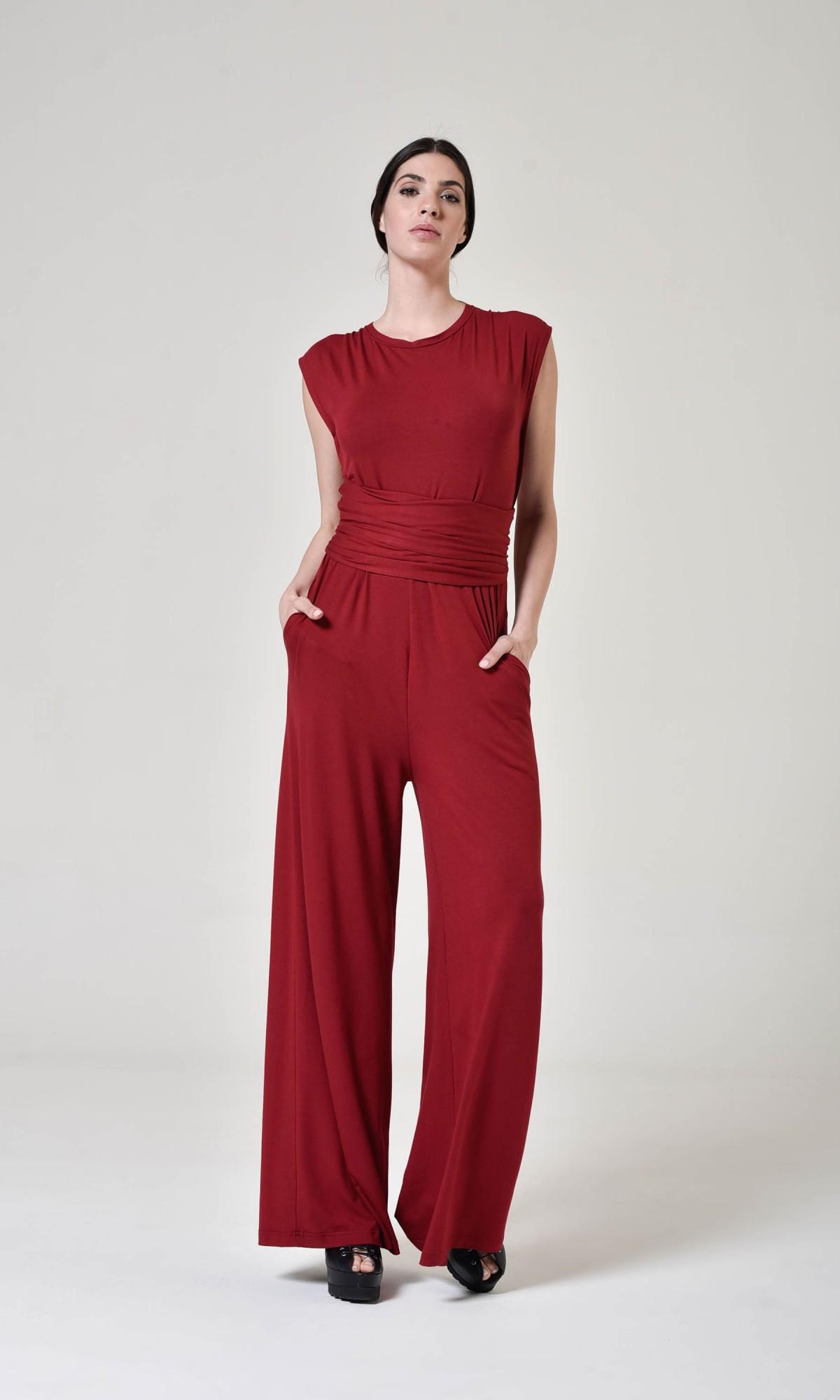 elegant wide leg jumpsuit
